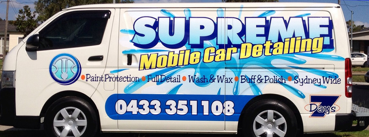 Mobile car detailing sydney northern beaches mobile car for Mobile auto painting